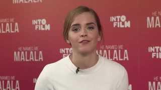 Emma Watson He Named Me Malala Q&A