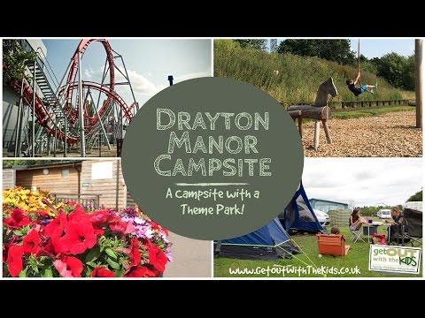 Drayton Manor Campsite and Theme Park