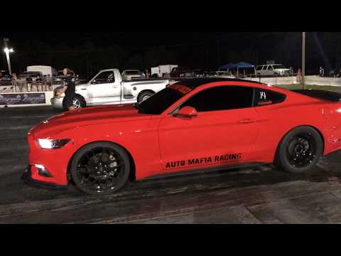 2015 EcoBoost Mustang vs Ford Lightning - Watch My Eco Runs a  12