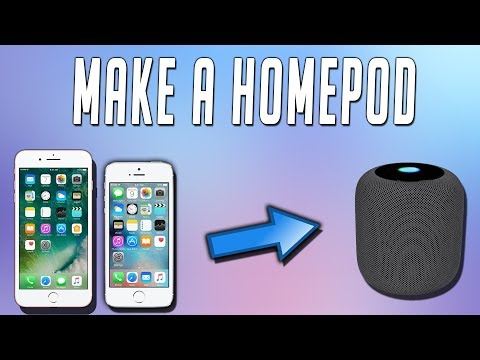 Make A HomePod At Home Easy! All You Need Is An Old iPhone! Simple TechnoTrend Exclusive!