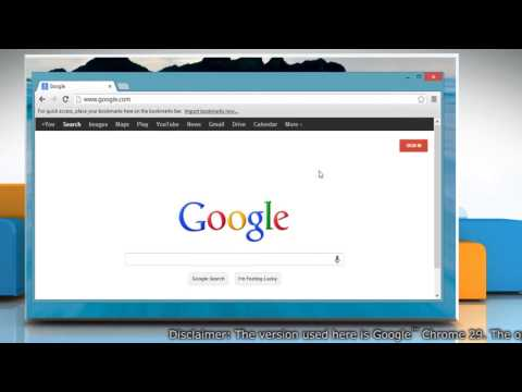 How to turn Spell Check on and off in Google™ Chrome in Windows® 8.1