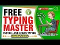 How to Type | Free Download and Install Free Typing Master 10 | Learn typing fast