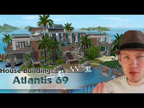 The Sims 3 House building - Atlantis 69