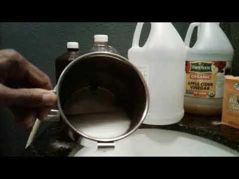 How I Clean A Coffee Enema Bucket or Bag