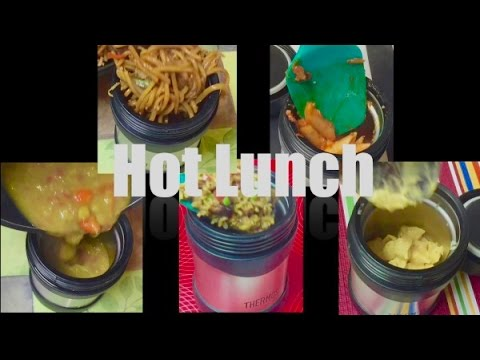 5 Days Hot School Lunch Ideas from Bhavna's Kitchen