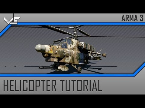 Arma 3 Basic Tutorial 3 - Battlefield 3 Helicopter Controls
