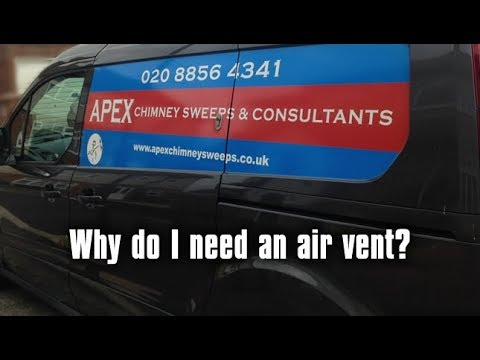 Does my fire need an air vent? Apex Chimney Sweeps