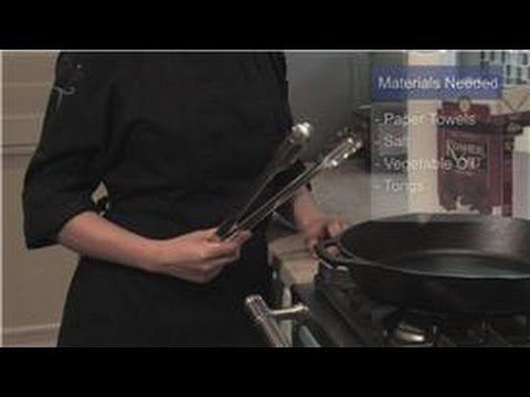 Cookware : How to Clean Rusty Cast Iron Skillets