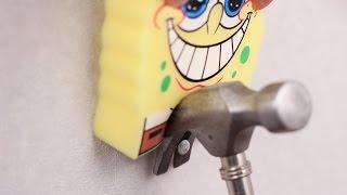 10 SIMPLE LIFE HACKS WITH SPONGEBOB