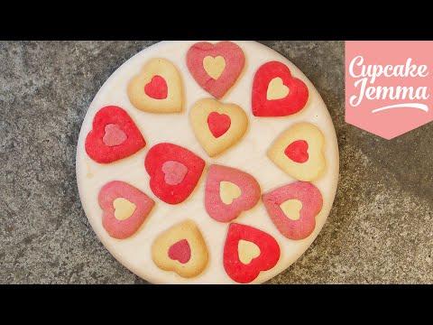 Valentine's Heart Cookie Recipe   Cupcake Jemma