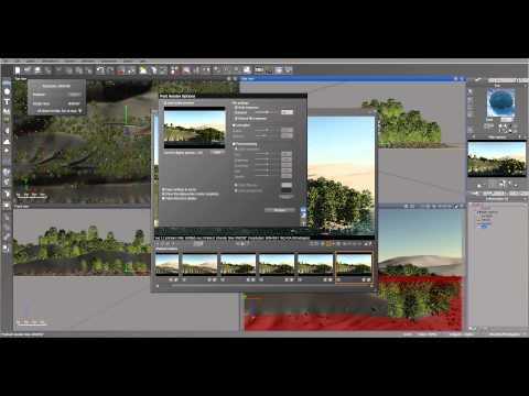 Material Editor Tutorial, project scene, Vue 11. [dv11]