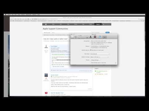 How to clear Safari 7 cache  OS X Mavericks