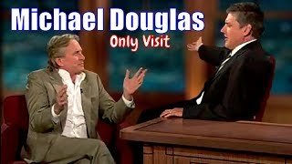 Michael Douglas - Solid Guest, Solid Interview - His Only Visit [Text & Imagery]