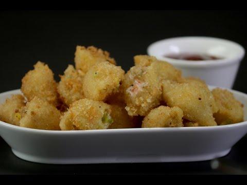 Cheesy Stuffed Shells    Sanjeev Kapoor Khazana