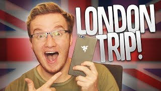 THE BRAND NEW RAZER PHONE! - My London Day Trip Vlog