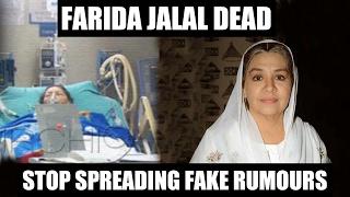 Farida Jalal Not DEAD | She Is Hale & Hearty