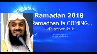 COUNTING DAYS TO RAMADAN 2018 | MUFTI MENK | MUSLIM AWLIA