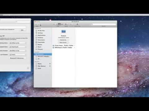 Mac OS X Lion Tutorial: The Sharing System Preference