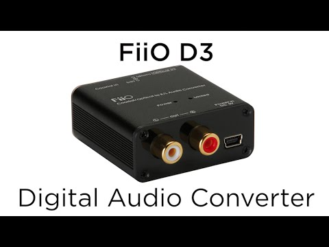 10 Minute Teardowns: What's inside of the FiiO D3 192kHz/24bit Optical and Coaxial DAC?