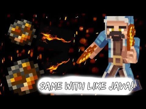 Like PC edition! / How to throw a big fireball on MCPE 1.2 2018! command tutorial