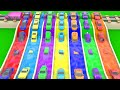 Colours Learning Colors For Children With Super Sports Cars Coloring Slides Tracks