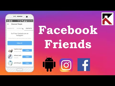 How To Find Facebook Friends On Instagram Android 2018