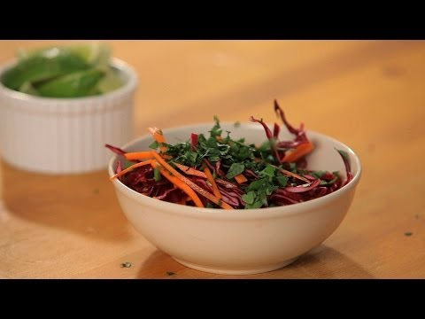 How to Make Slaw for Tacos | Tacos