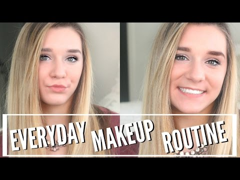 My Everyday Makeup Routine for HIGH SCHOOL! Freshman Year ♡