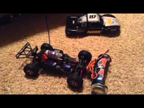 Homemade snow plow for any RC car!