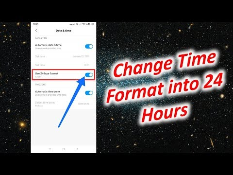 How to Change Time Format into 24 Hours in Redmi