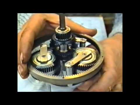 Endlessly Variable Mechanical Gearbox