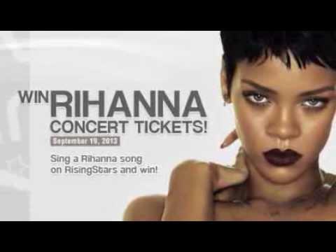 Win Rihanna's Concert Tickets