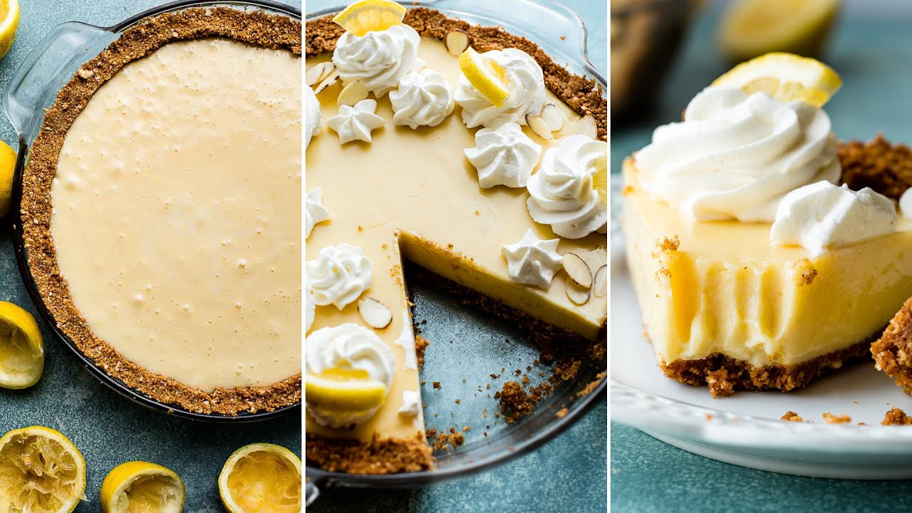 Creamy Lemon Pie | Sally's Baking Addiction