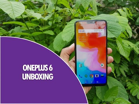 OnePlus 6 Unboxing, Hands on and Camera Samples