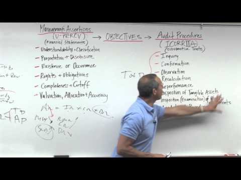 Audit Risk, Financial Statement Level and Assertion Level - Lesson 3