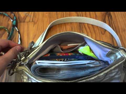 What is in my bag? Coach Signature Demi Cross-body