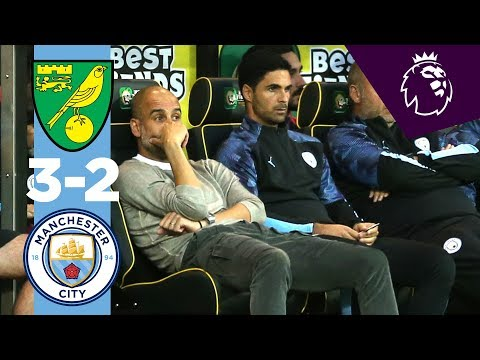 HIGHLIGHTS | Norwich City 3-2 Man City | McLean, Cantwell, Aguero, Pukki, Rodrigo