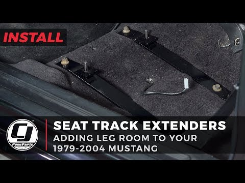 Mustang Install: 1979-2004 Mustang Seat Track Extenders