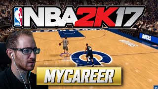 STEPH CURRY IN THE MAKING | NBA 2K17 MYCAREER #2