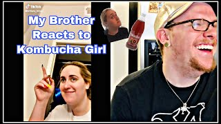 ✨My Brother Reacts to Kombucha Girl✨
