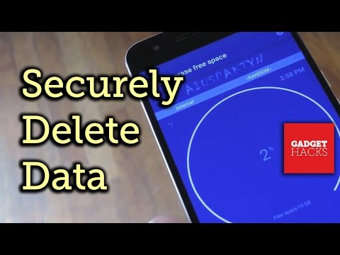 Permanently Erase Deleted Files on Android [How-To]