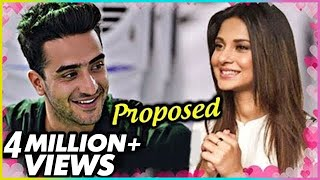 Aly Goni CONFESSES His Love For Jennifer Winget | Cute Proposal