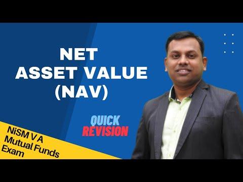 NISM mutual fund exam  tutorial  : Unit 6  -  Net Asset Value ( NAV )