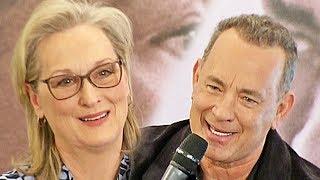 The Post - Pentagon Papers - Meryl Streep, Tom Hanks & Steven Spielberg in Paris (2018)