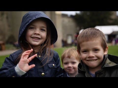 our day at WARWICK CASTLE, England!