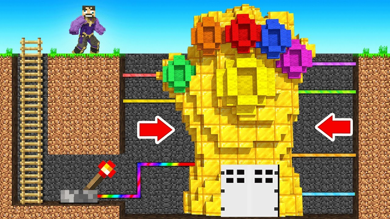 Making a SECRET BASE in Insane Craft (Minecraft)