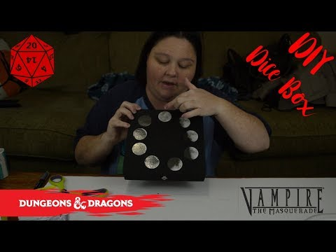DIY D&D Dice Box