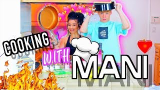 COOKING WITH MANI! (our cooking show)