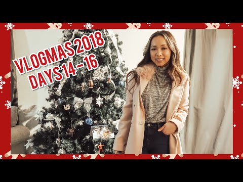 DAYS 14- 16: CPE Day + Getting My Sh*t Together!   VLOGMAS