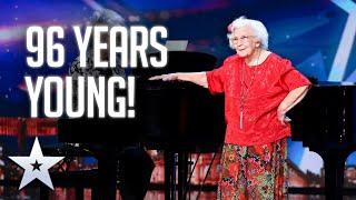 INSPIRATIONAL Nora Barton shows us the POWER of music | BGT 2020